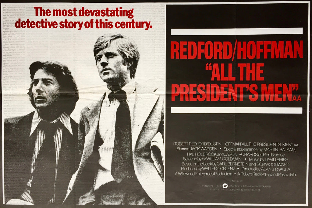 All the President's Men, UK, 1976