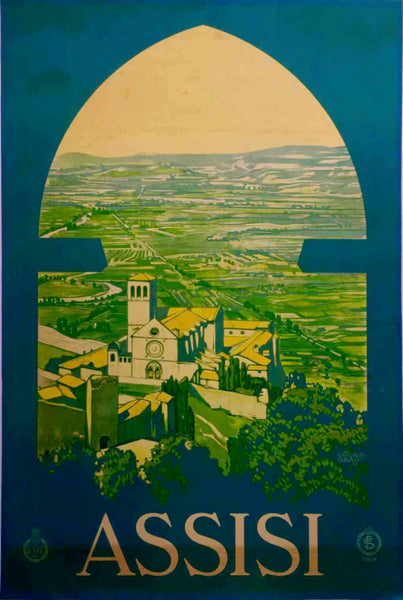 Assisi, Italy, 1926