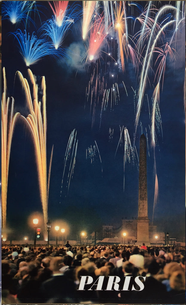 Paris Fireworks, 1970s
