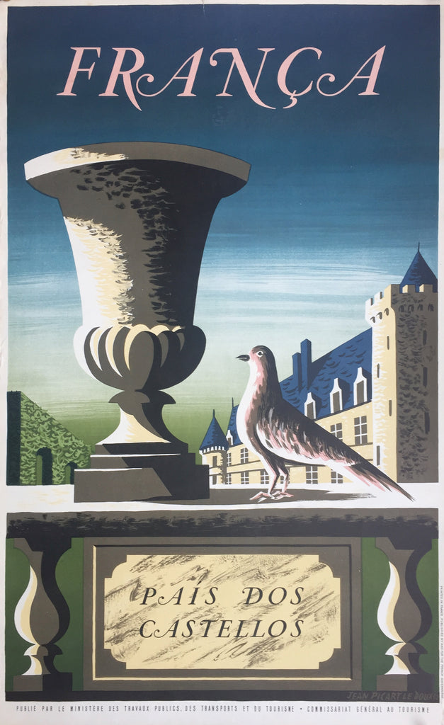 France, Land of Chateaux (in Spanish), 1950