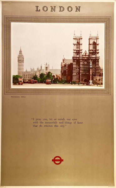 Westminster Abbey, London, England, 1948