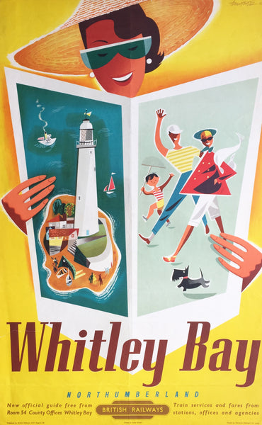Whitley Bay, England, 1954