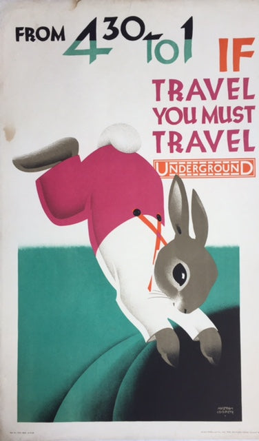 If Travel You Must... London Underground, 1928