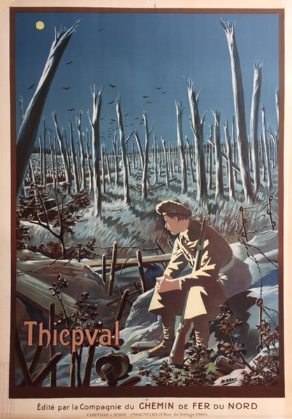 Thiepval, First World War, France, c1919