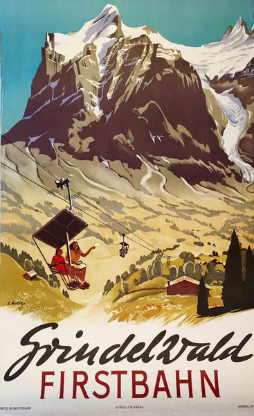 Grindelwald, Switzerland, c1950