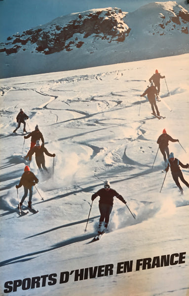 Winter sports in France, 1968
