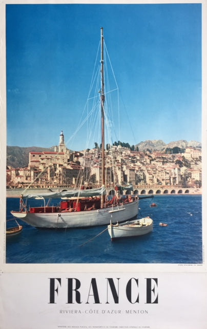 Menton, France, late 1950s