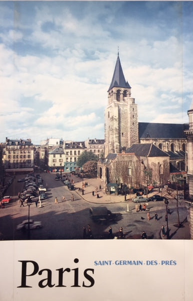 Saint Germain des Prés, Paris, late 1950s