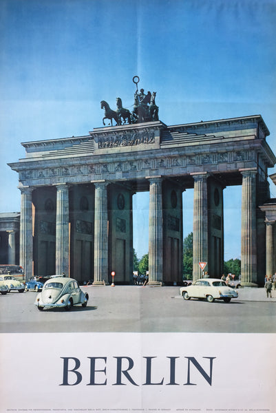 Brandenburg Gate, Berlin, before 1961