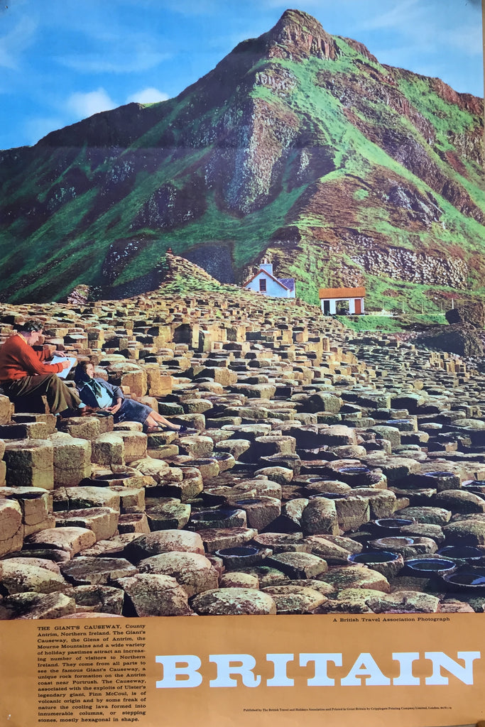 Giant's Causeway, Northern Ireland, 1960/1