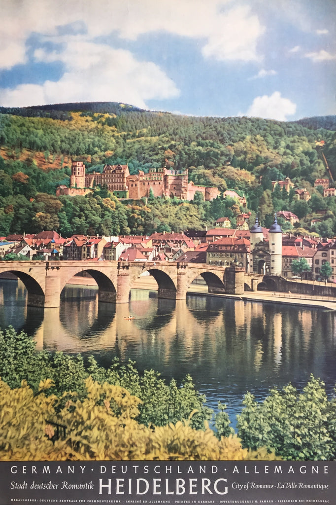 Heidelberg, Germany, City of Romance