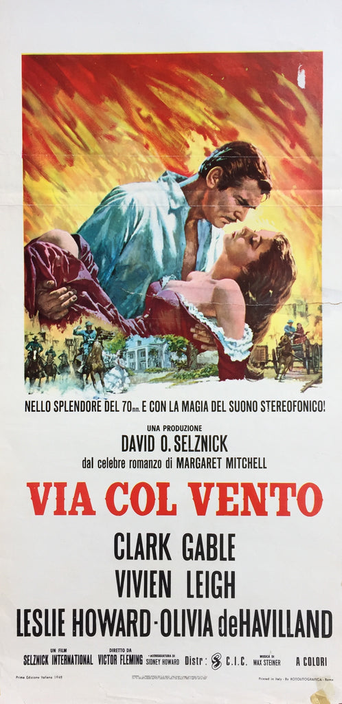 Gone with the Wind, Italy, 1948