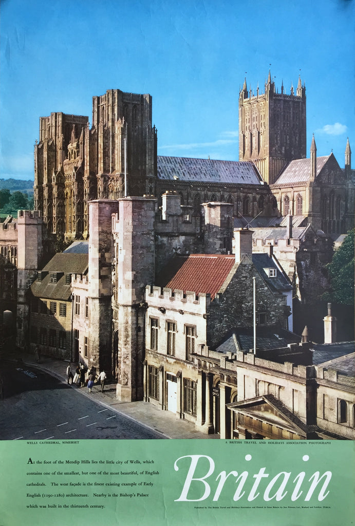 Wells Cathedral, Somerset, England, 1959/60