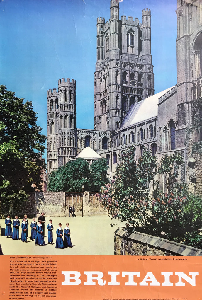 Ely Cathedral, England, 1960/61