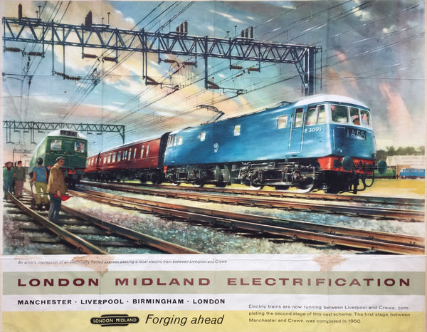 London Midland Electrification, c1963
