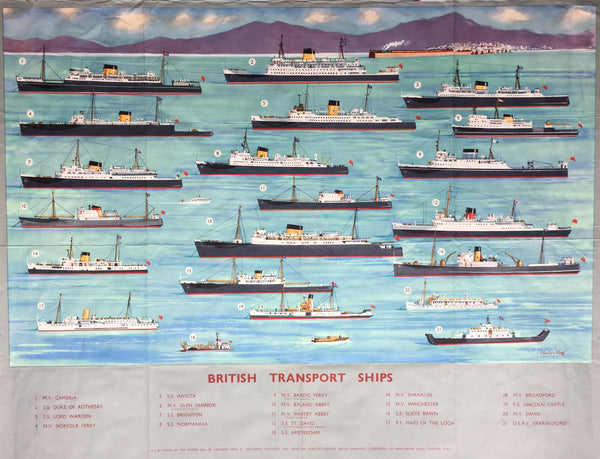 British Transport Ships, late 1950s
