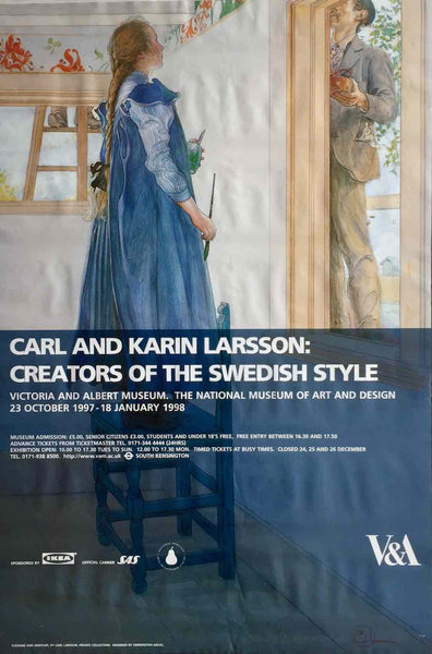 Carl & Karin Larsson exhibition, 1998