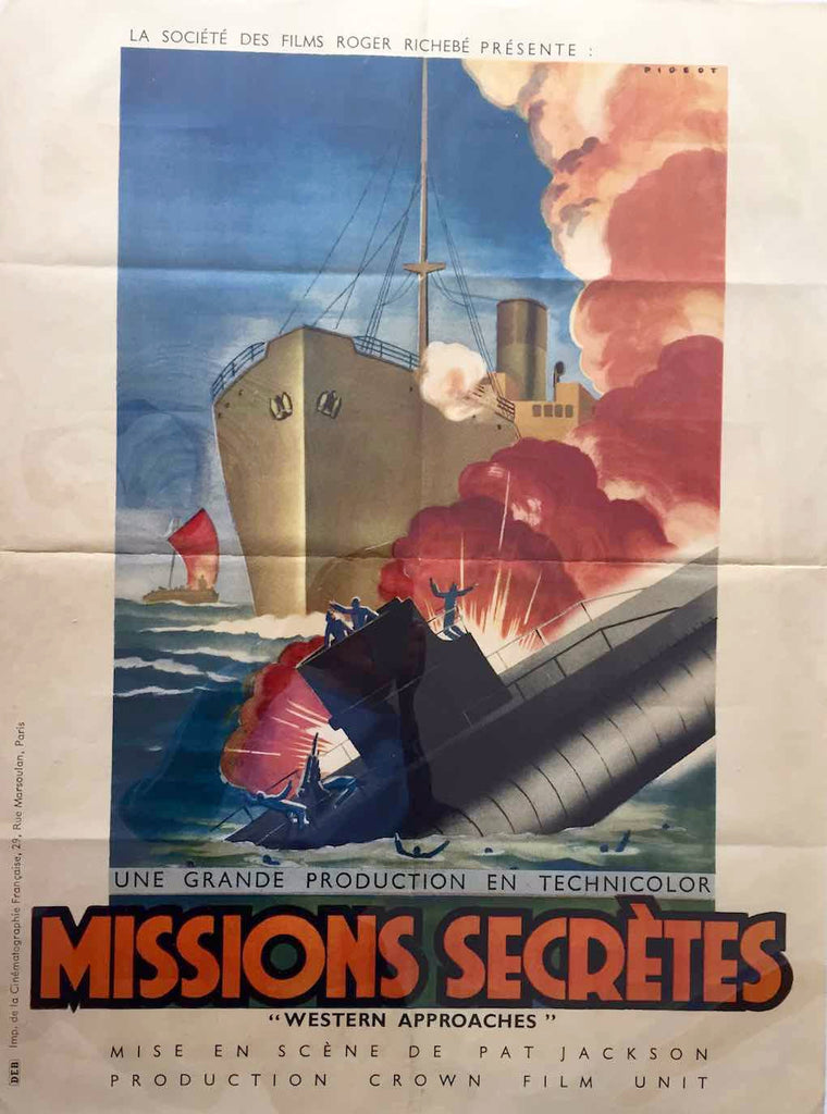 Missions Secrètes / Western Approaches, 1945