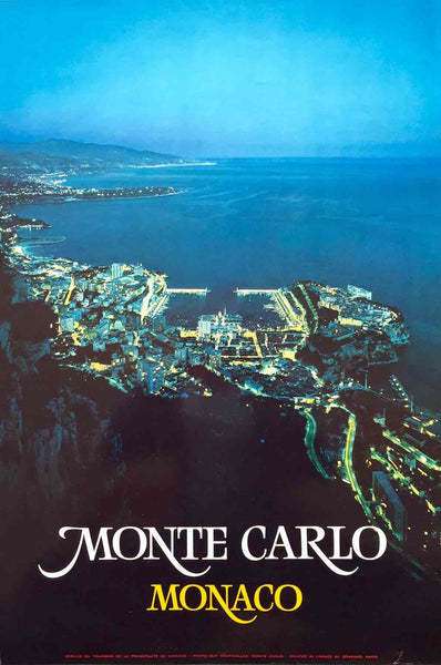 Monte Carlo by night (Two sizes)