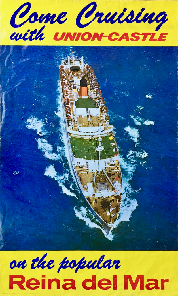 Reina del Mar cruise ship, late 1960s