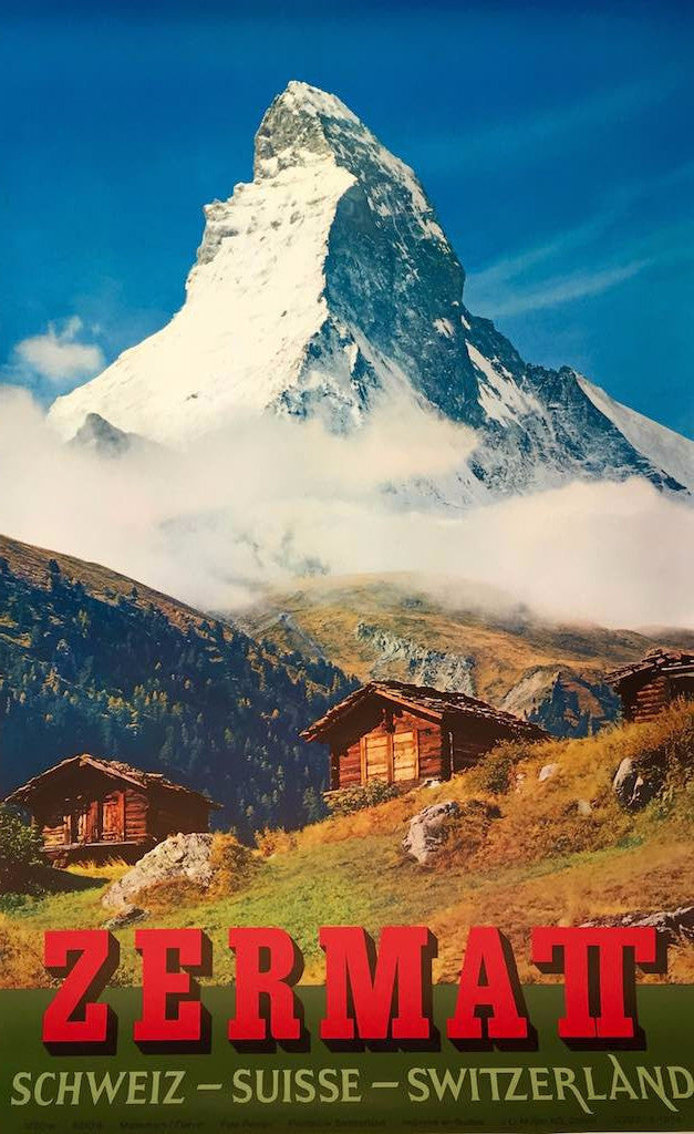Zermatt, Switzerland, 1960s