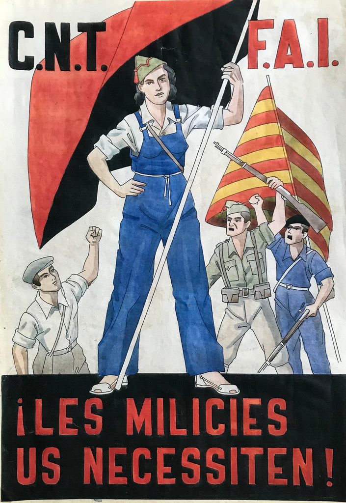 Spanish Civil War: The Militias Need You! 1930s