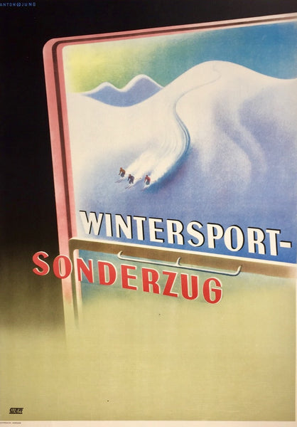 Wintersport – Sonderzug, Germany, 1950s