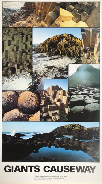 Giant's Causeway, Northern Ireland, Montage