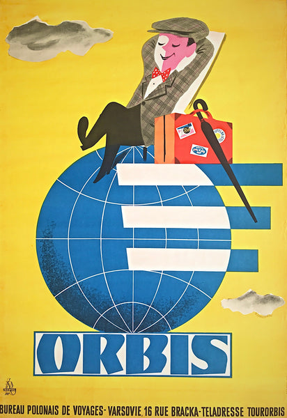 Orbis Travel Agency, Poland, 1950s