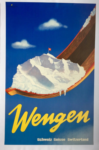 Wengen, Switzerland, 1940s
