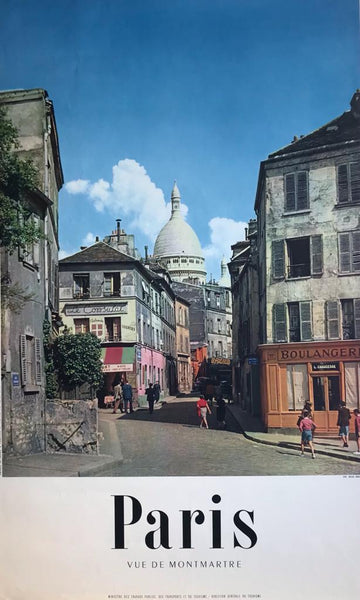 Montmartre, Paris, France, 1954?