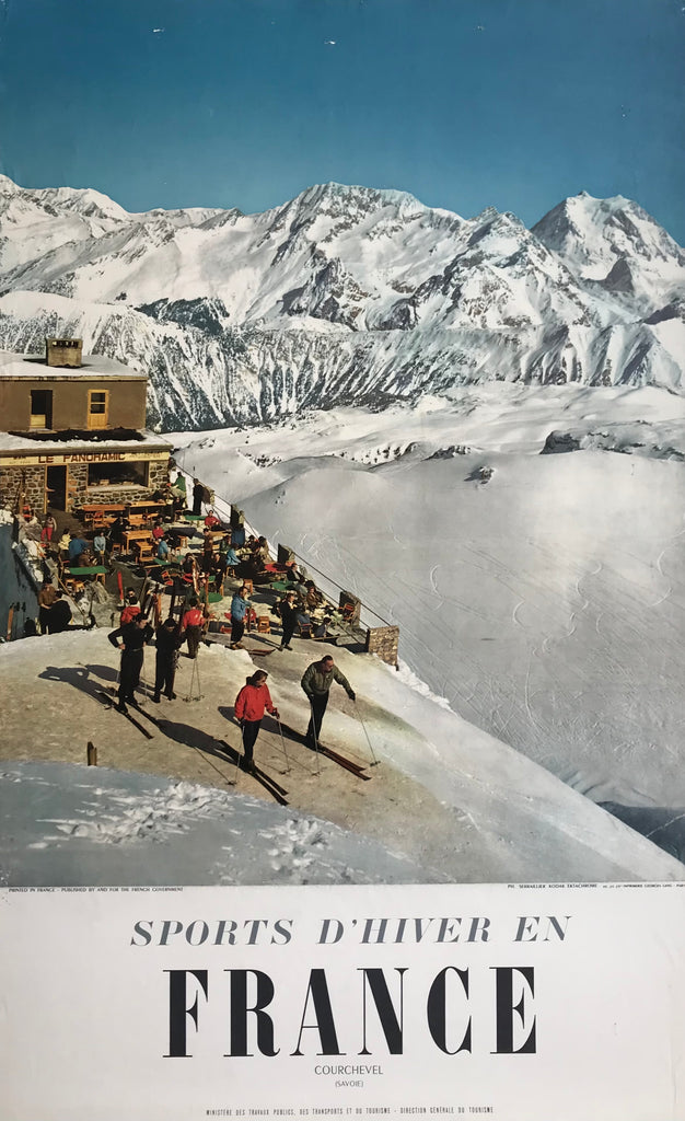 Panoramic Restaurant, Courchevel, France, 1955