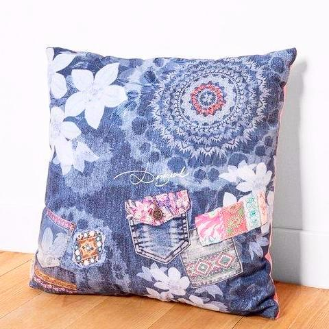 DESIGUAL Cushion - Exotic Jeans Collection