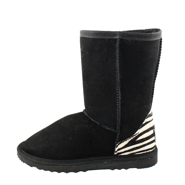 BONDI UGG 3/4 Boot - Black Zebra