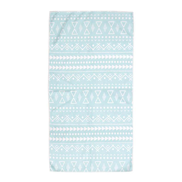 BAMBURY Microfibre Gym Towel - Pacific