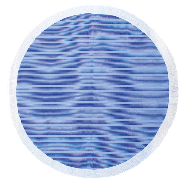 Express Round Beach Towel - Horizon Ultramarine