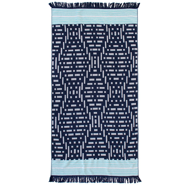 Express Beach Towel - Kai Navy