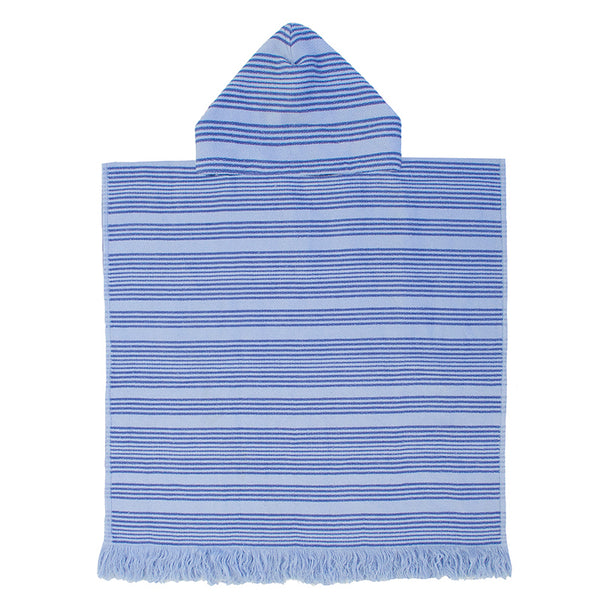 Youth Kids Express Poncho - Horizon Ultramarine