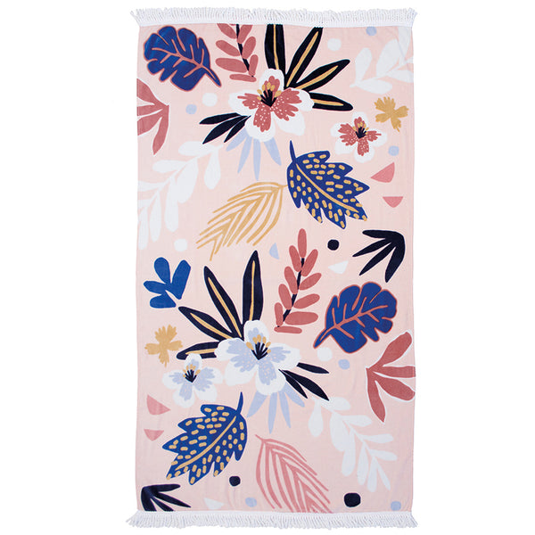 Printed Beach Towel - Isla