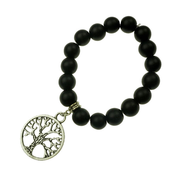 Tree of Life Buddha Bead Bracelet