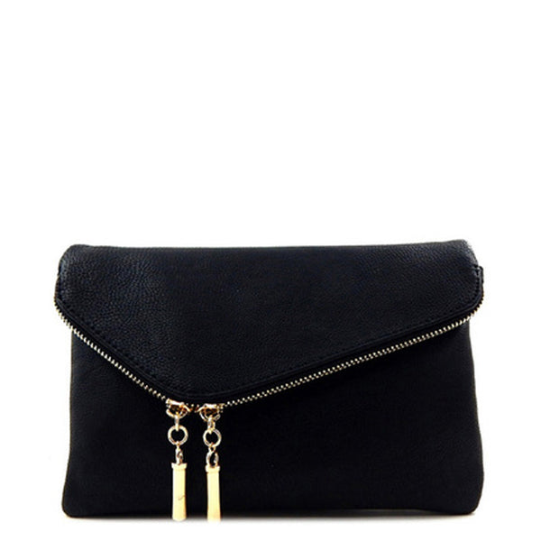 'Virginia' Clutch Black