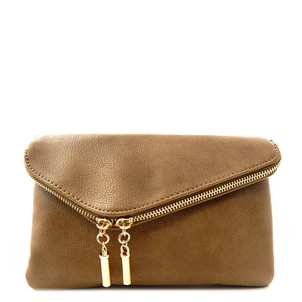'Virginia' Clutch Tan