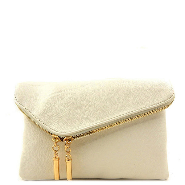 'Virginia' Clutch White