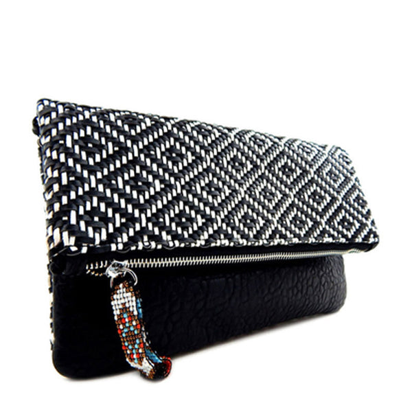 Morocco Clutch Black