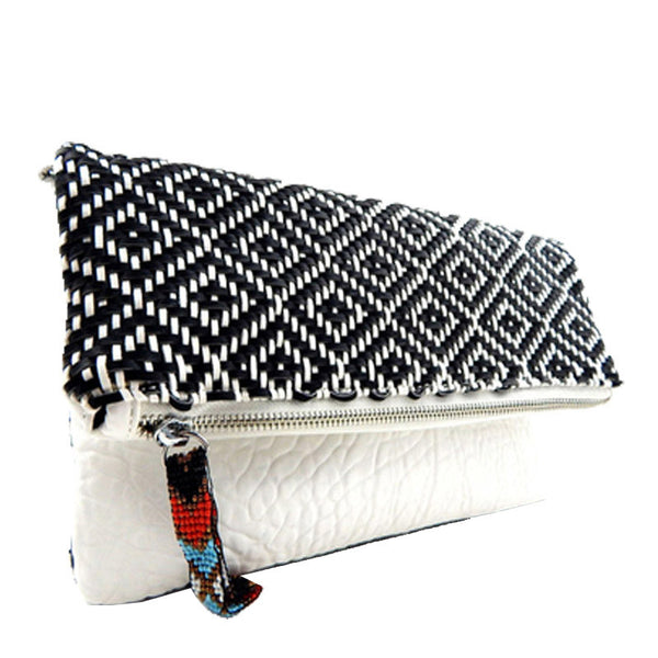 Morocco Clutch White