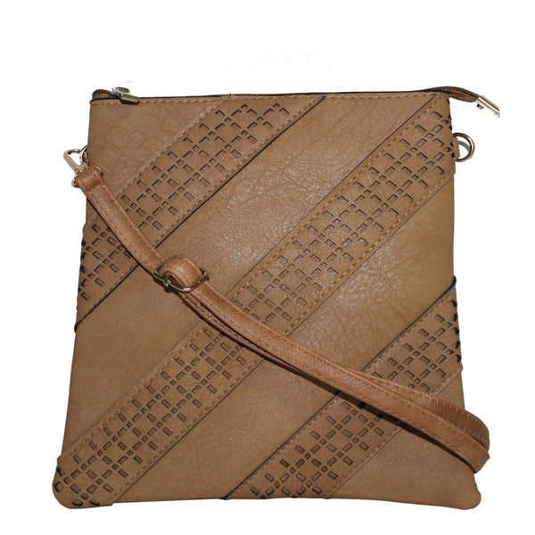 Classic Crossbody Bag - Tan