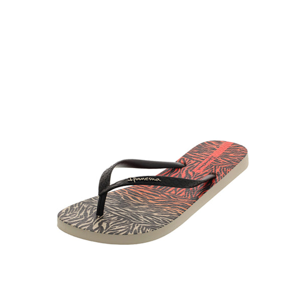 iPanema Everyday Fem - Beige/Black/Red