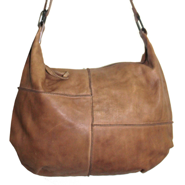 Tuscany Leather Provincial Bag - Tan