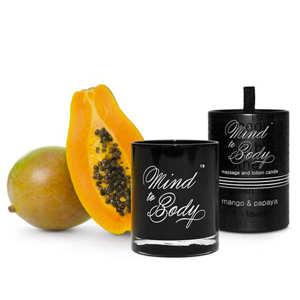 Mango & Papaya Body Lotion and Massage Candle