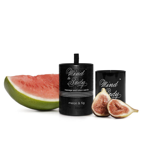 Melon & Fig Body Lotion and Massage Candle